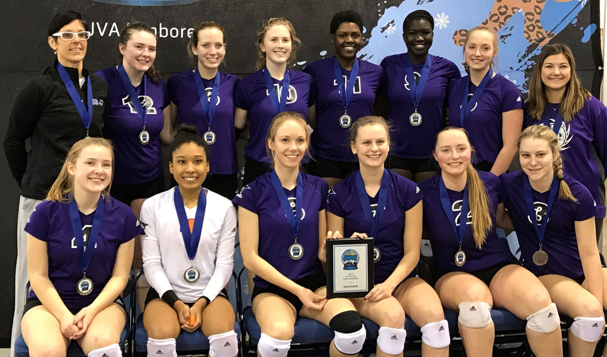 CLUB 43 Volleyball - JVA 2nd Place
