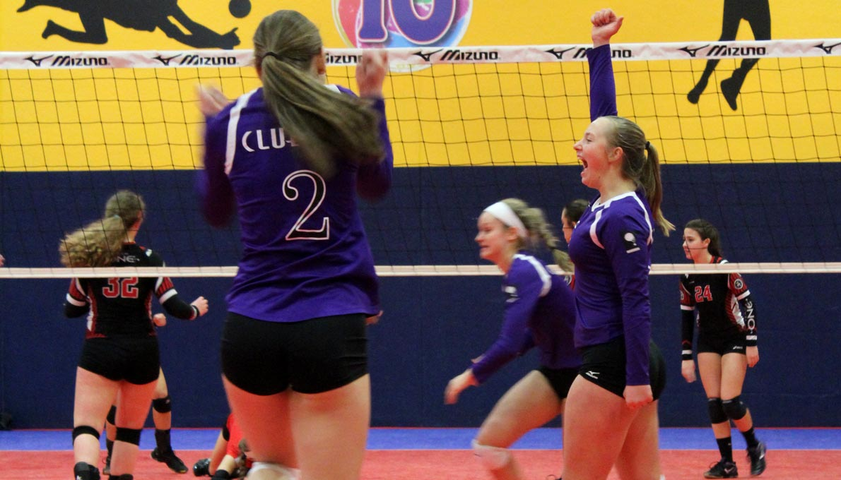JO Volleyball at CLUB 43