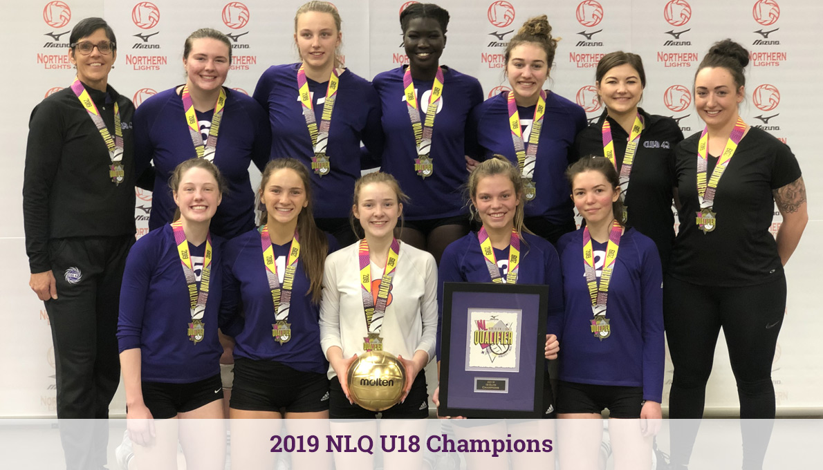 CLUB 43 Volleyball - 2019 NLQ U18 Champions