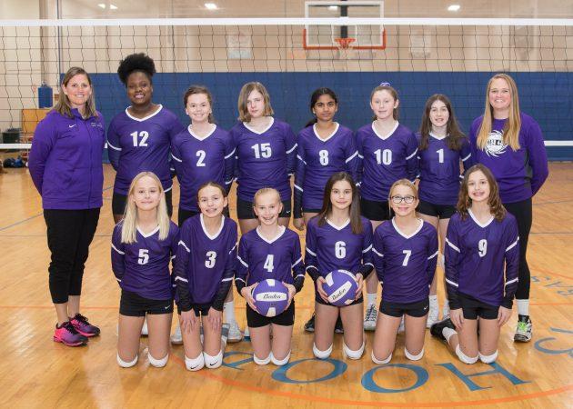U121 Team Photo - CLUB 43 Volleyball
