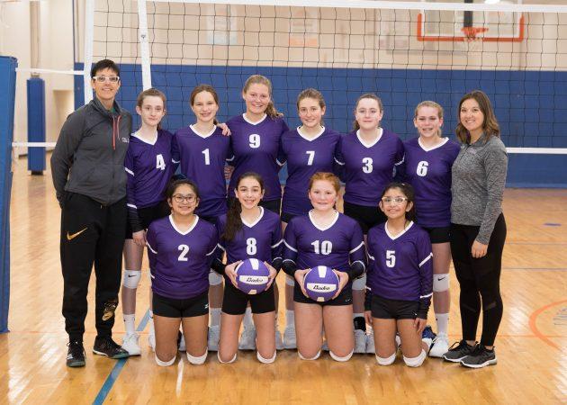 U131 Team Photo - CLUB 43 Volleyball