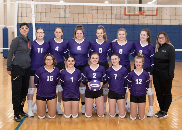 U16P Team Photo - CLUB 43 Volleyball