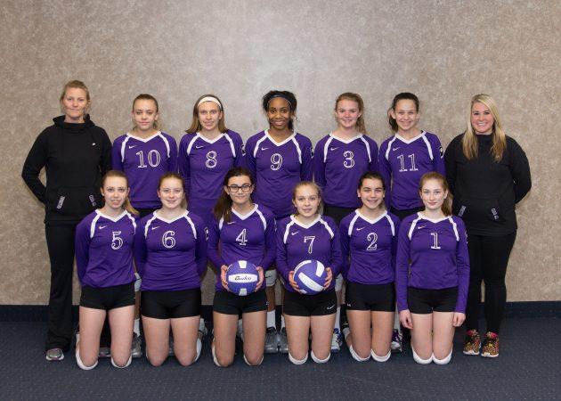 CLUB 43 Volleyball U141 2016-17