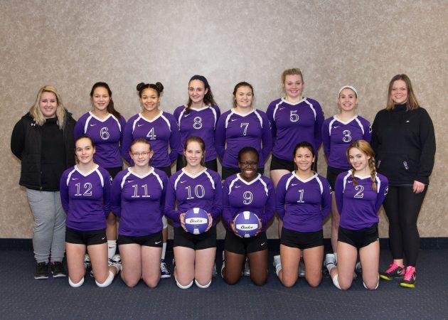 CLUB 43 Volleyball U16P 2016-17
