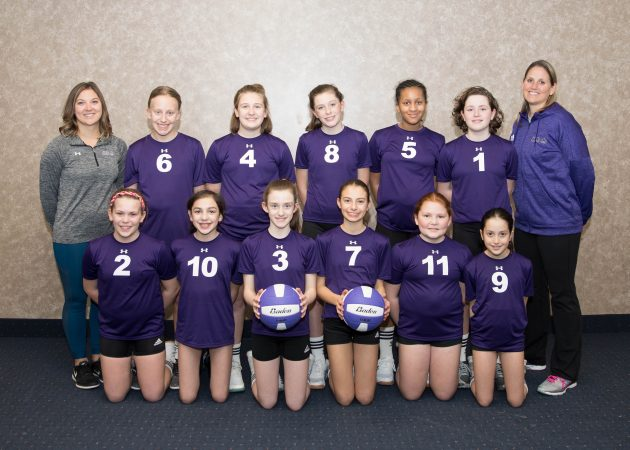 U121 Team - CLUB 43 Volleyball