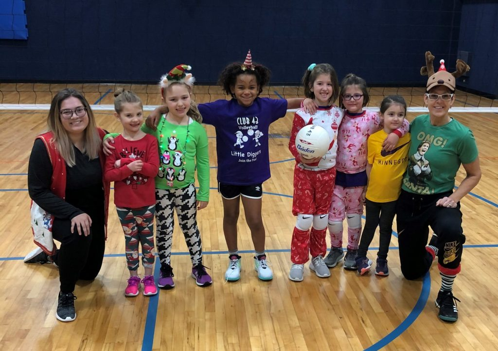 CLUB 43 Volleyball - Little Diggers