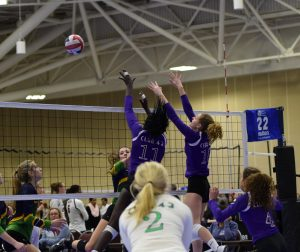 CLUB 43 JO Volleyball Action Shot